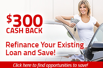refinance your existing loan and save.